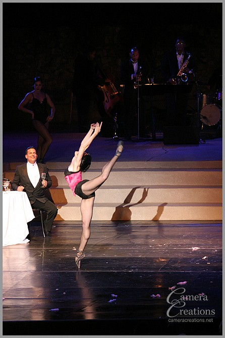 Dance performance at the Ford Theater, Los Angeles, CA with City Ballet of Los Angeles. Photograph was featured in Vogue Magazine.