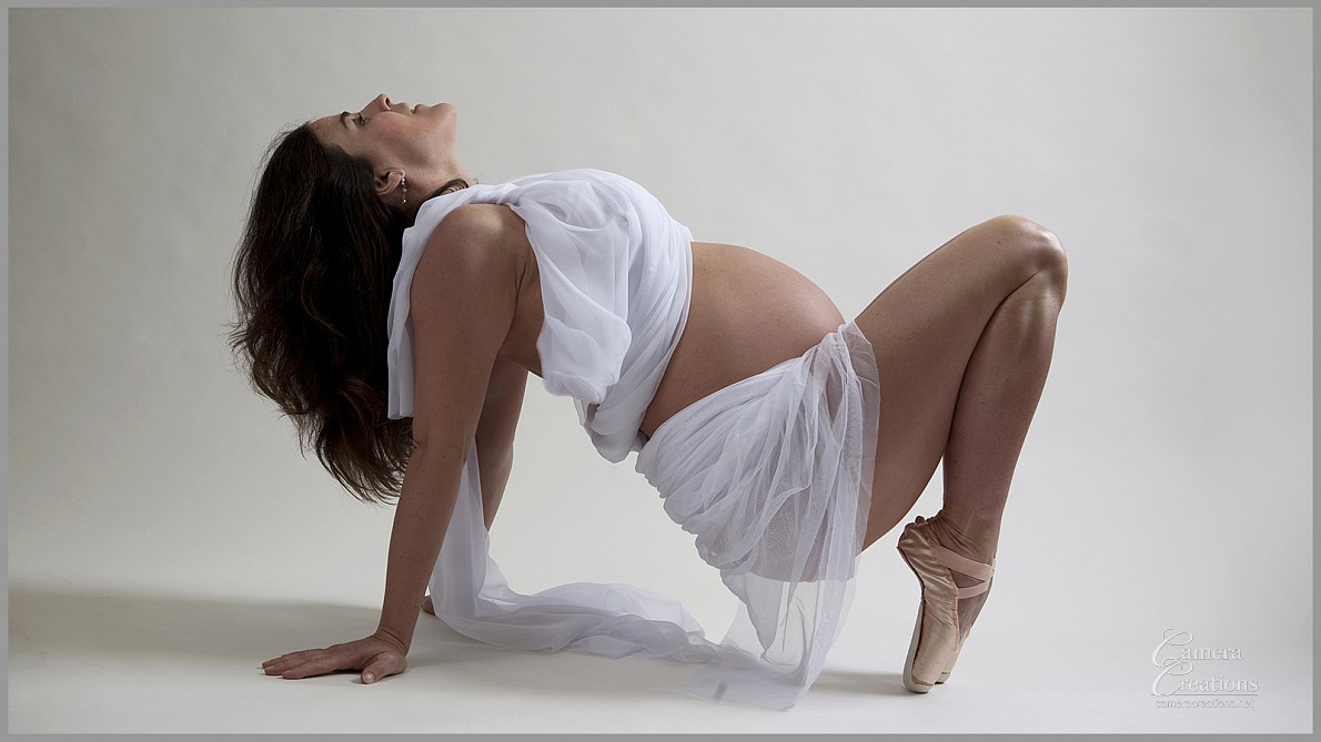 Maternity photography session in los angeles at Camera Creations LLC studio.