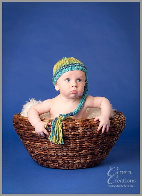 Baby portrait photography session at Camera Creations LLC studio.in los angeles.