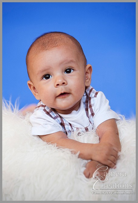 Baby portrait photography session at Camera Creations LLC studio in los angeles.