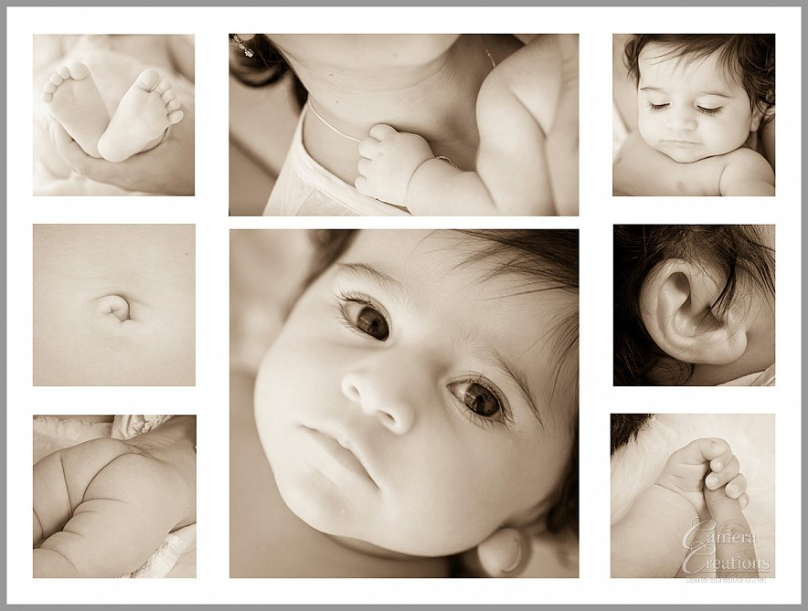 Newborn photography session at Camera Creations LLC in Los Angeles.