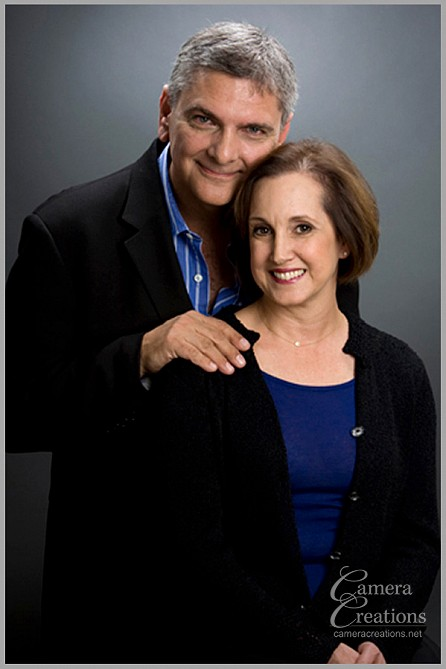 Couple's portrait photography at Camera Creations LLC studio in Los Angeles,