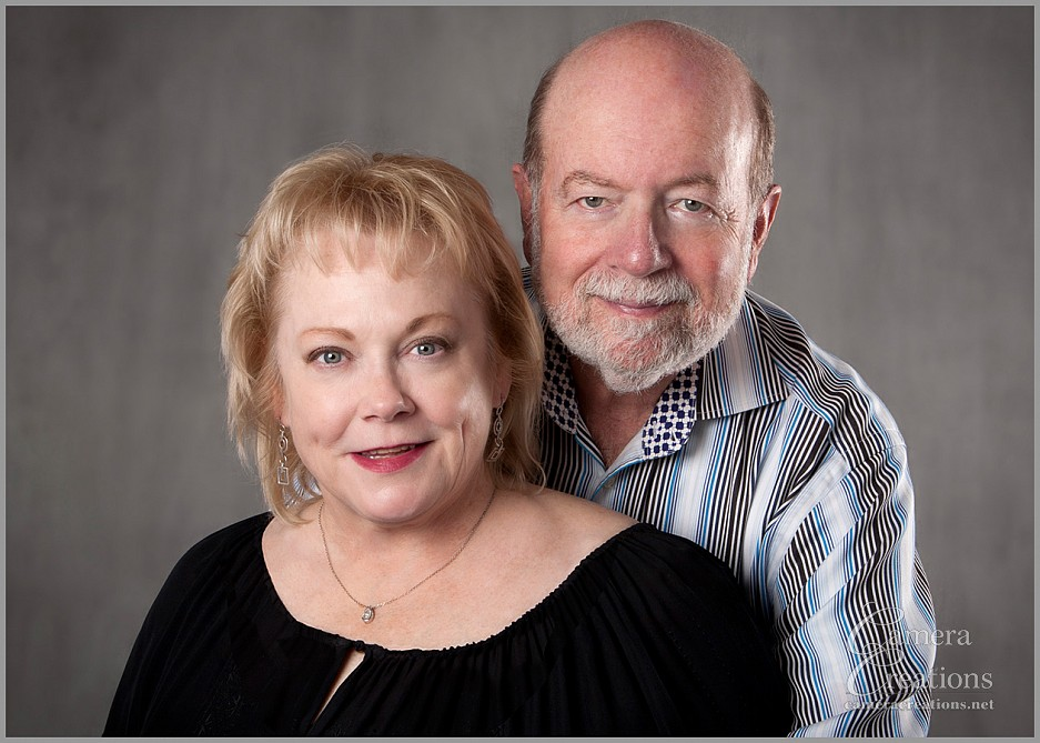 A couple portrait session for the holdiays at Camera Creations LLC.
