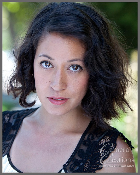Outdoor headshot session for an actress.