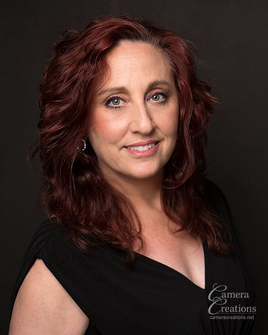 Professional headshot for dance teacher Lisette Morris at Camera Creations portrait studio in Los Angeles.