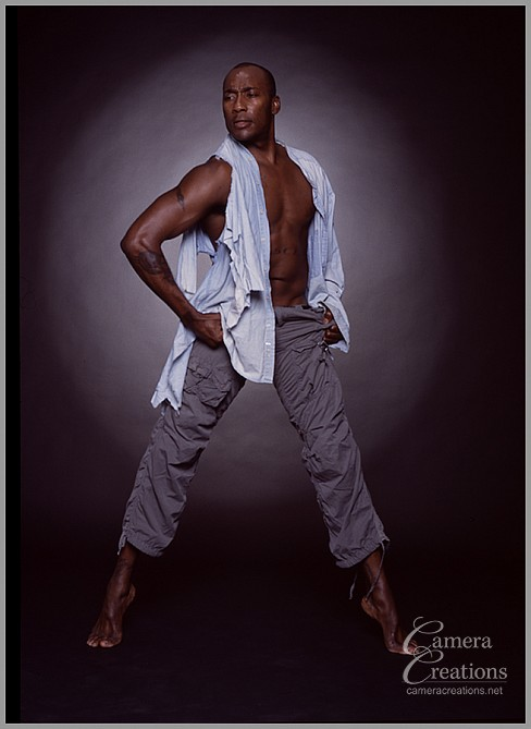 Celebrity and dancer Carlton Wilborn is a powerhouse of a dancer.