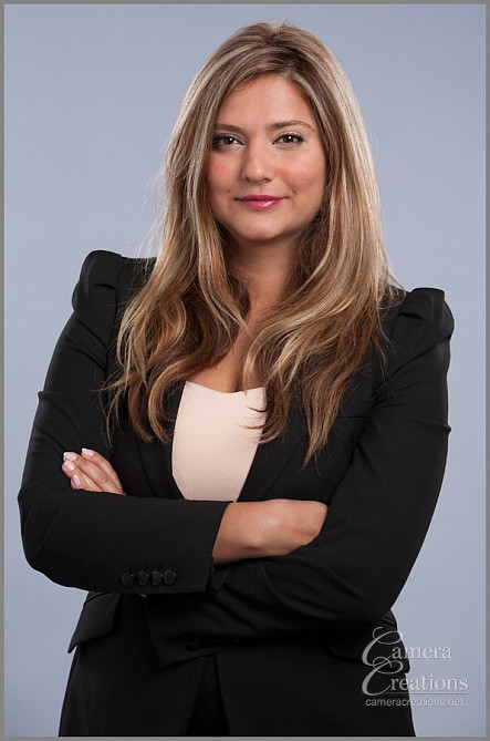 Business headshot photography for family lawyer Mariam Atighechi at Camera Creations LLC Los Angeles.