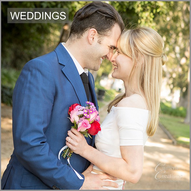 Wedding photography in Beverly Hills, CA by Camera Creations LLC.